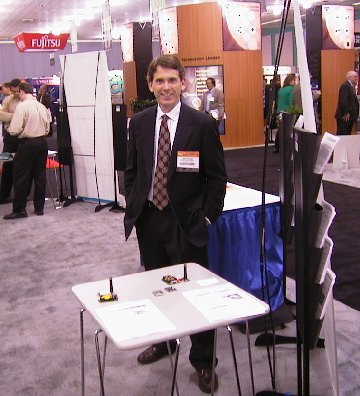 Jim Pearce at the Trade Show